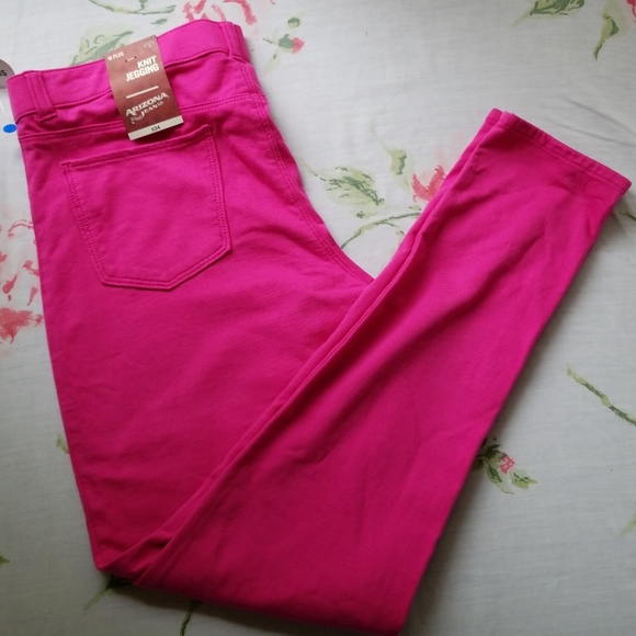 ecc9877fc96 Arizona Pink Knit Jeggings New With Tags plus Size